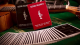 Silver Sackbut Playing Cards (Red)